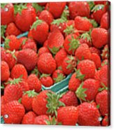 Strawberries Jersey Fresh Acrylic Print