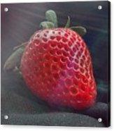 Strawberries Raise Acrylic Print