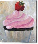 Strawberry Cupcake  Acrylic Print