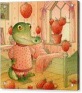 Strawberry Day Acrylic Print