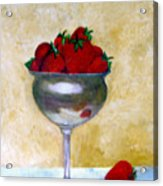 Strawberry Feast Acrylic Print