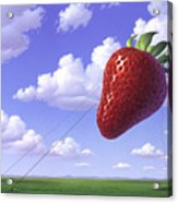 Strawberry Field Acrylic Print