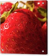 Strawberry Fun Acrylic Print