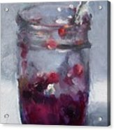 Strawberry Jam Acrylic Print