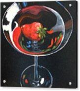 Strawberry Martini Acrylic Print