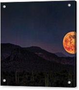 Strawberry Moon  Acrylic Print
