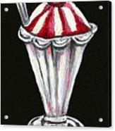 Strawberry Sundae Acrylic Print