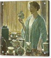Strawberry Tea Set, 1912 Acrylic Print