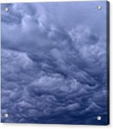 Streaks In The Clouds Acrylic Print