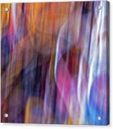 Streaks Of Thread Acrylic Print