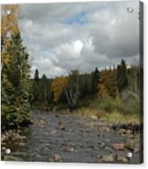 Stream At Tettegouche State Park Acrylic Print