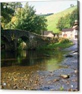 Stream In England Acrylic Print