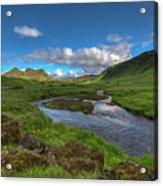 Stream South Iceland Acrylic Print