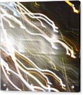 Streaming Abstract Acrylic Print