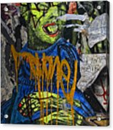 Street Art Lower Manhattan 2 Acrylic Print