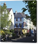 Street Corner In Tralee Ireland Acrylic Print