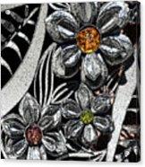Street Flowers Acrylic Print