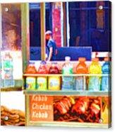 Street Food 3 Acrylic Print