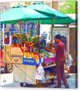 Street Food 6 Acrylic Print