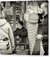 Street Ice Cream Acrylic Print
