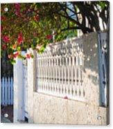 Street In Key West Acrylic Print