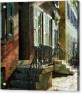 Street In New Castle Delaware Acrylic Print