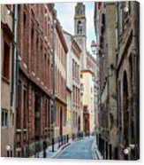 Street In Toulouse Acrylic Print