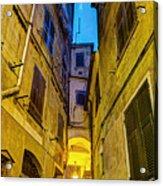 Street In Vernazza Acrylic Print