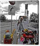 Street Jester Acrylic Print