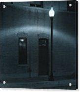 Street Lamp Arc Acrylic Print