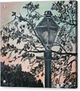 Street Lamp Historic Vintage Art Print Acrylic Print
