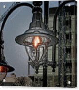 Street Lamp Acrylic Print by Yavor Kanchev