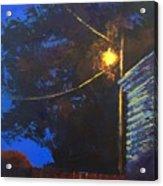 Street Light Nocturne Acrylic Print