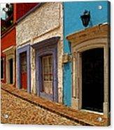 Street Of Color Guanajuato 1 Acrylic Print