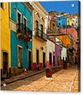Street Of Color Guanajuato 4 Acrylic Print