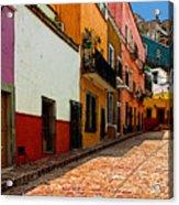 Street Of Color Guanajuato 5 Acrylic Print