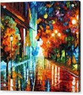 Street Of Hope Acrylic Print