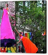 Street Performers 1 Acrylic Print