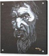 Street Person Acrylic Print
