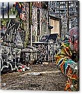 Street Phenomenon Biggie Acrylic Print by The DigArtisT