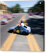 Street Racing Acrylic Print