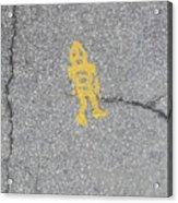 Street Robot Acrylic Print