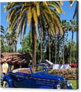 Street Rod In Meguiar's Circle Of Excellence Acrylic Print