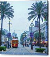 Street Scene, New Orleans Acrylic Print