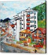 Street Scene Srebrenica 201806 Acrylic Print
