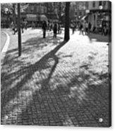 Street Shadows Acrylic Print