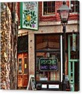 Street Signs Portland Maine Acrylic Print