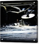 Street Sweeper Acrylic Print