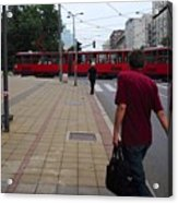 Streets Of Belgrade Acrylic Print