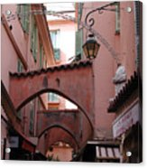 Streets Of Cannes 1 Acrylic Print